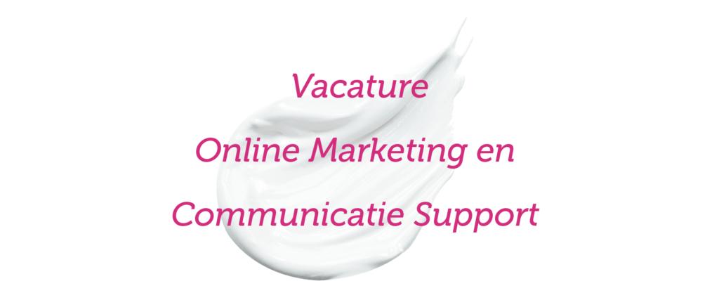 Vacature online marketing